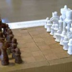 Chess Set, 2003 by Angelo & Temporary Services @ Mass MoCA.