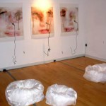 Installation view at Kingston Gallery.