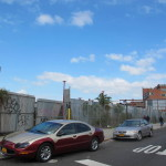 Remaining warehouse space from the Rheingold brewery re-purposed for wholesale distribution slated for residential rezoning and development.