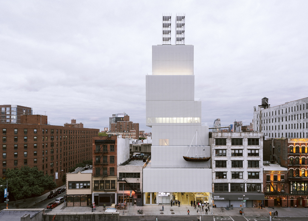 """Chris Burden: Extreme Measures"" at New Museum, New York, 2013 Courtesy New Museum, New York.  Photo: Dean Kaufman"