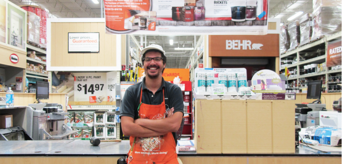 John C. Gonzalez at The Home Depot, Providence, RI, 2013 Photograph courtesy of the artist