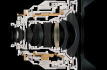 "Christopher Williams ,"" Cutaway model Zeiss Distagon T"", 2013. Pigmented inkjet print. Paper: 16 × 20″"