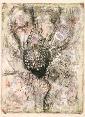 Untitled, Michael Mullaney, mixed media on paper, 2003