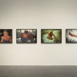 Nan Goldin (b. 1953 Washington, D.C.) Gilles and Gotscho, Paris, 1992—93 Four Cibachrome prints 30 x 40 in (76 x 101.6 cm) each Courtesy the artist and Matthew Marks Gallery, New York/Los Angeles  Courtesy New Museum, New York. Photo: Benoit Pailley