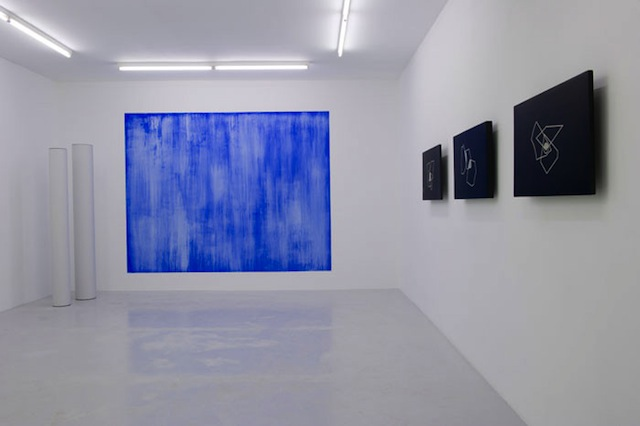 Installation view of Adriana Lara, Scryyns and Interesting Theories, 27 January to 3 March, 2012, at Air de Paris