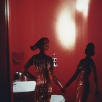 Laurie Simmons, Red Bathroom, 1982.  Courtesy of the artist and Salon 94.