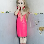 Laurie Simmons, Blonde/Pink Dress/Standing Corner, 2014.  Courtesy of the artist and Salon 94.