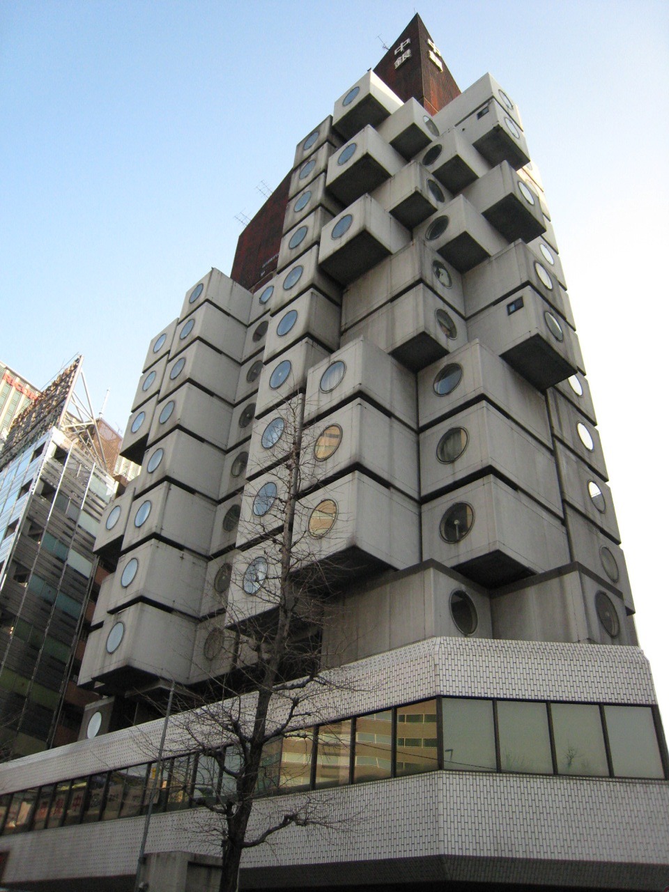 Kisho Kurokawa's Nakagin Capsule Tower