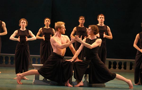 """Mark Morris Dance Group performing """"Dido and Aeneas"""" Photo by Stephanie Berger"""