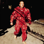 Zhang Huan, My New York, still from video performance, 2002