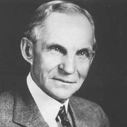 Henry Ford, the inventor of the assembly line.