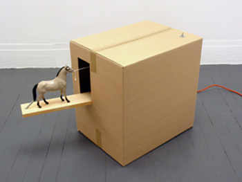 Robin Mandel, Moving Day, mixed media, 2005