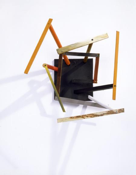 Al Taylor, Untitled, found materials and paint, 1985.