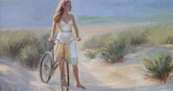 typical works like this can be seen in Provincetown. Arthur Egeli, A Day at the Beach.