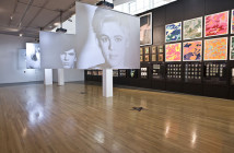Andy Warhol, Screen Tests, Installation View, 1964-1966.