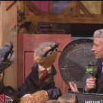 Anderson Cooper (right), from Sesame Street, courtesy of CNN.