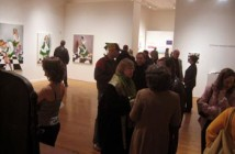 A reception for the Museum School MFA graduates at Tufts University.