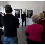 Me giving a lecture at Solomon Projects in Atlanta
