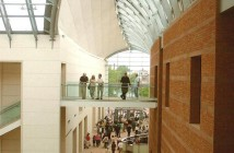 The inside of the Peabody Essex Museum