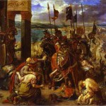 Eugène Delacroix, The Entry of the Crusaders into Constantinople, oil on canvas, 1840 (from the collection of the Louvre, Paris)