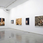 an installation from Ryan McGinley, I Know Where the Summer Goes, at Team Gallery
