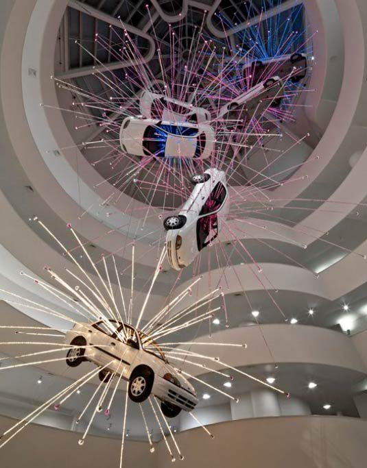 Cai Guo-Qiang, Inopportune (Stage One), 2004.