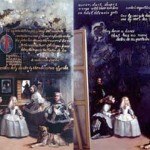 Two images from Domingo Barreres: Las Meninas, Earthly Delights And Other Investitures