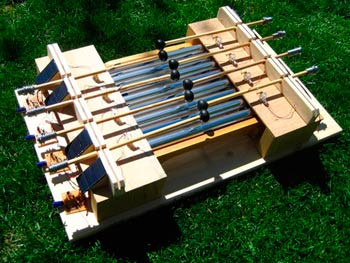 Rory Nugent's solar-powered xylophone