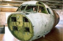 The Bat Project recreates the fuselage of a US spy plane downed over China on April 1, 2001.