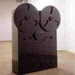 Andrew Reyes, Adults, mdf and lacquer, 2003.