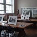 Prints and photographs out on display in the Agnes Mongan Center Print Study Room