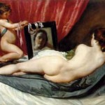 Diego Velázquez, Venus in the mirroroil on canvas, 1648–1651