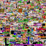 The Million Dollar Homepage, as of 1/20/06. Image courtesy of Wikipedia.