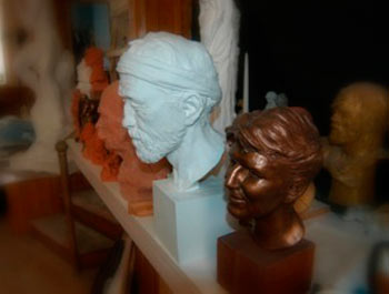 Sculptures by Lawrence J. Nowlan