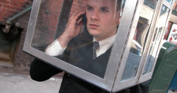 Nick Rodrigues, Portable Cellular Phone Booth, 2002