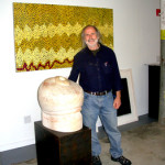 Ralph Brill is showing paintings by Eve Sonneman and sculpture by Jon Isherwood.
