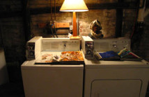 Sketchbooks by Enzo Moscarella, washer & dryer by Kenmore