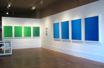 """Sean Micka, installation view of """"After Images"""", 2008."""