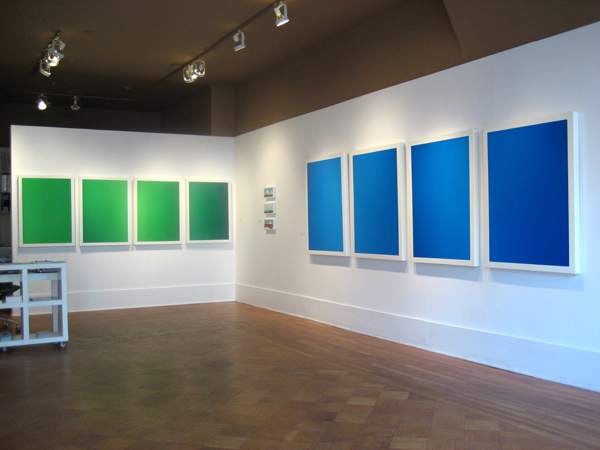 "Sean Micka, installation view of ""After Images"", 2008."
