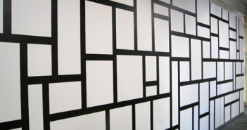 Sol LeWitt, Wall Drawing 614, India ink Yale University Art Gallery, Gift of the artist; photograph by John McAlister; courtesy of MASS MoCA