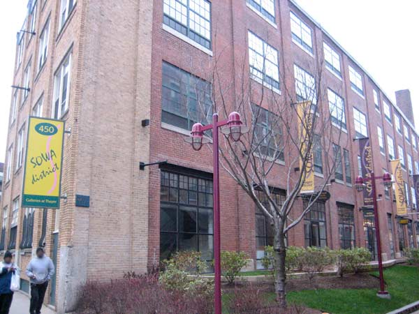 450 Harrison Avenue, home to a number of Boston's galleries