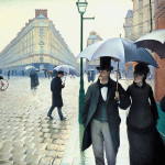 Gustave Caillebotte, Paris Street, Rainy Day (La Place de l'Europe, temps de pluie), oil on canvas, 1877.
