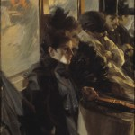 The Omnibus, second version, 1892, Anders Zorn (Swedish, 1860-1920), Isabella Stewart Gardner Museum, Boston