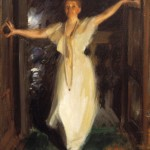 Portrait of Isabella Stewart Gardner in Venice, 1894, Anders Zorn (Swedish, 1860-1920), Isabella Stewart Gardner Museum, Boston