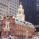 Photograph of the Old State House in Boston, Massachusetts by Urban via wikimedia.org