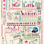 Hand embroidered Penguin Threads collectible edition of Little Women  AD: Paul Buckley