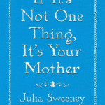 Hand embroidered cover for Julia Sweeney  AD: Jason Heuer