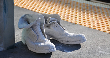 """Boots"" by Maximiliano Sinani. Image courtesy of the artist"