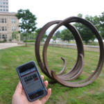 Photo courtesy MIT List Visual Arts Center (pictured in the background: Bernar Venet, Two Indeterminate Lines, 1993
