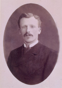Theo Van Gogh, younger brother of Vincent, and an art dealer. Circa 1888.